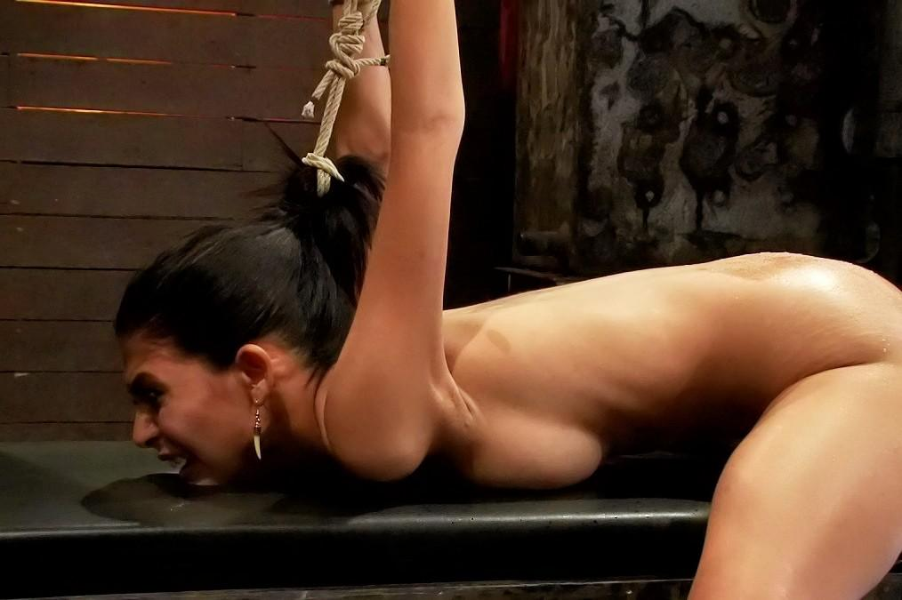 Pity, free female bondage clips 3318