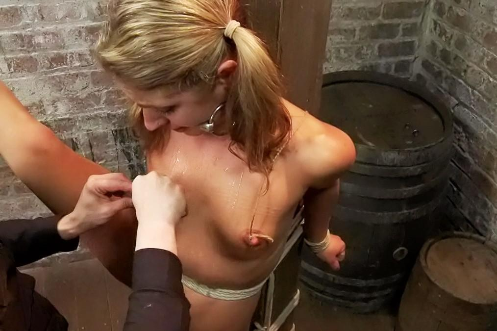 Brother humiliated in pantyhose