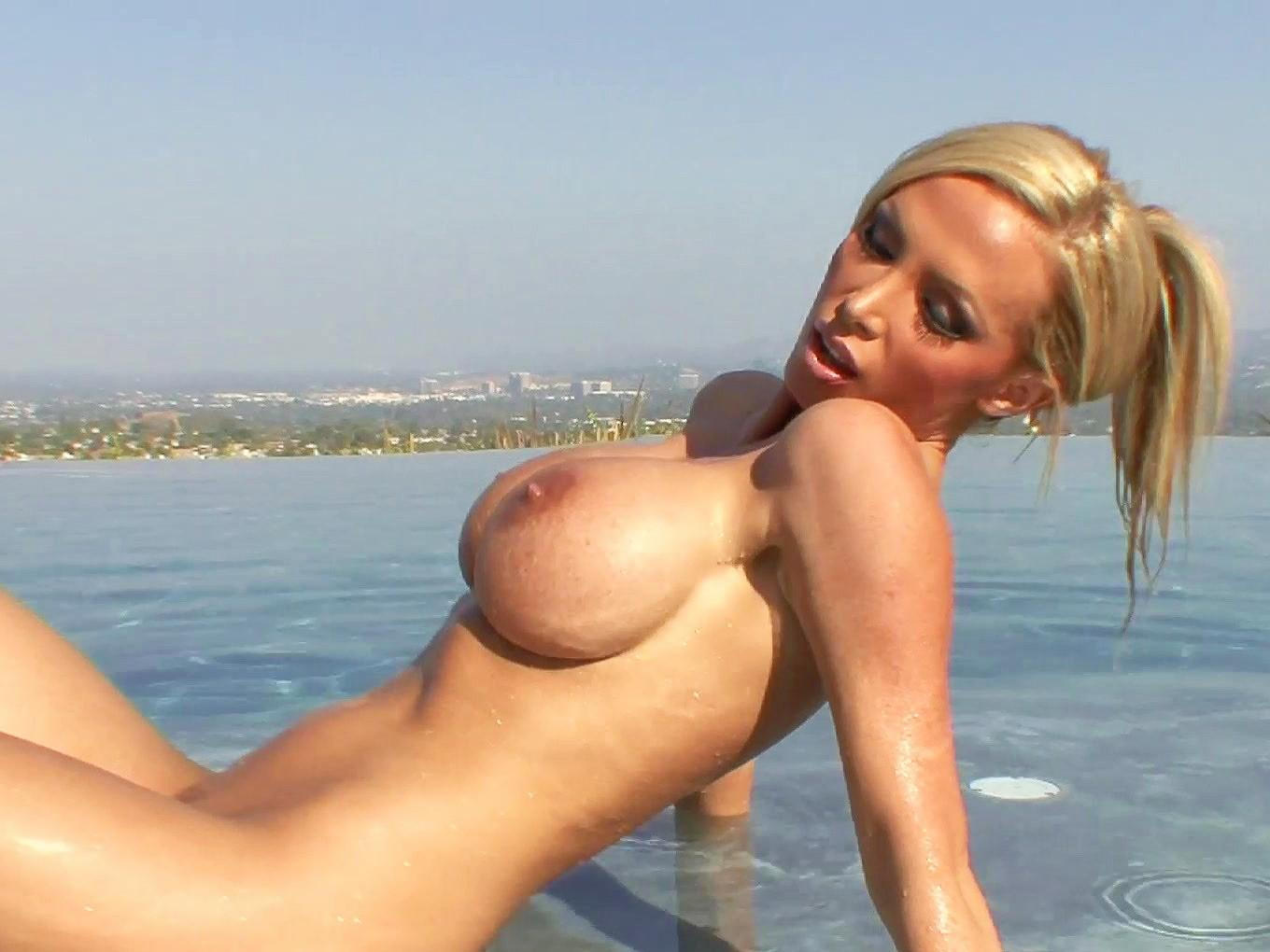 huge milf tits in nice big natural tits, her huge tits