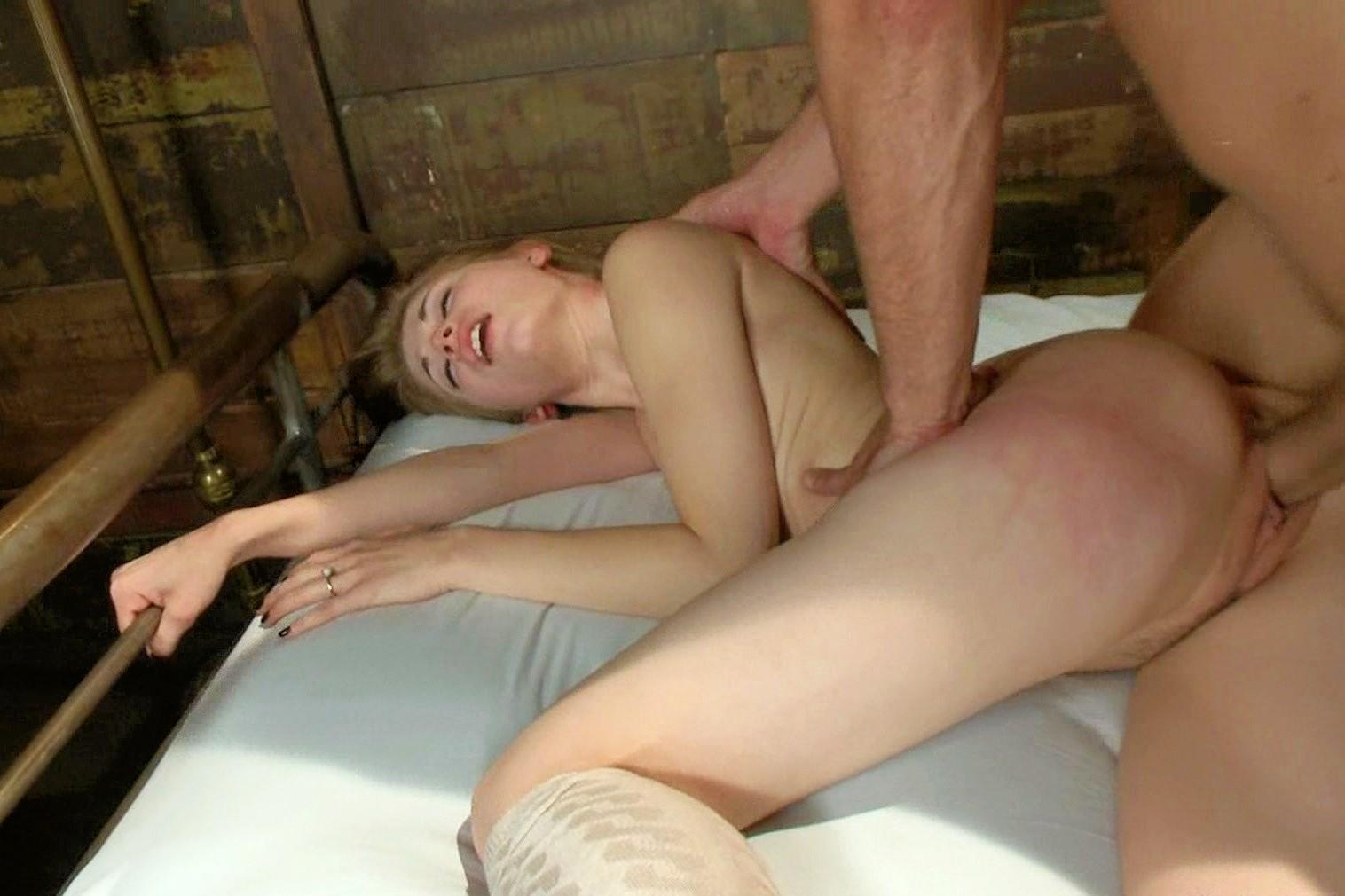 Badtime stories german slave gets fisted in lesbian bdsm 9