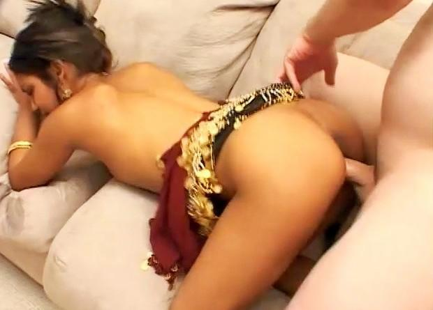 Girl getting fucked so hard she screams in pain