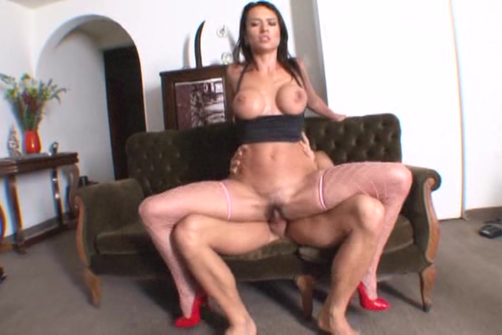 Stripping sexy latina