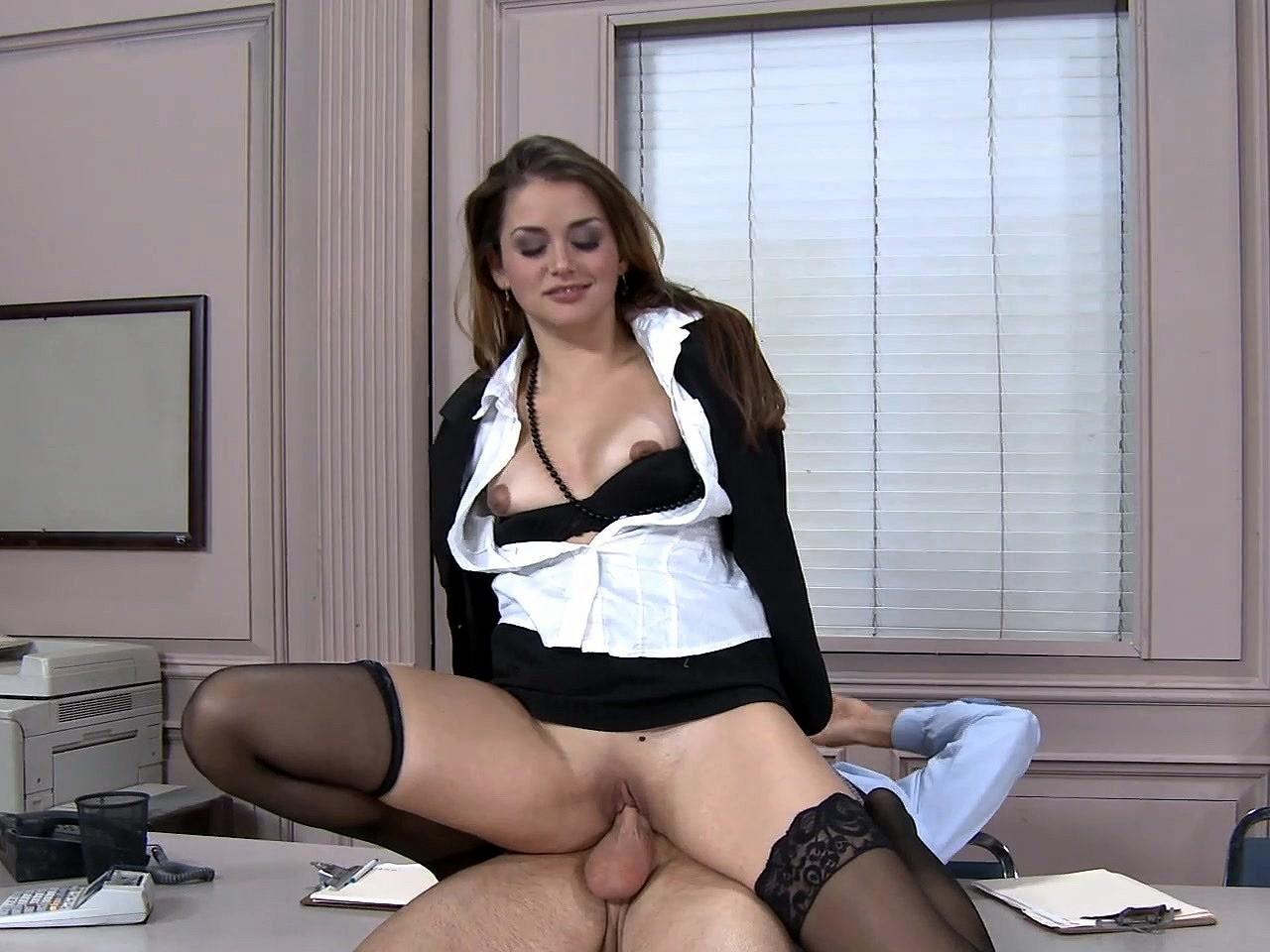 Interracial Secretary Porn Captions - secretary sucks captions