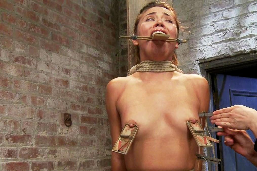 this sex slave has beautiful breasts