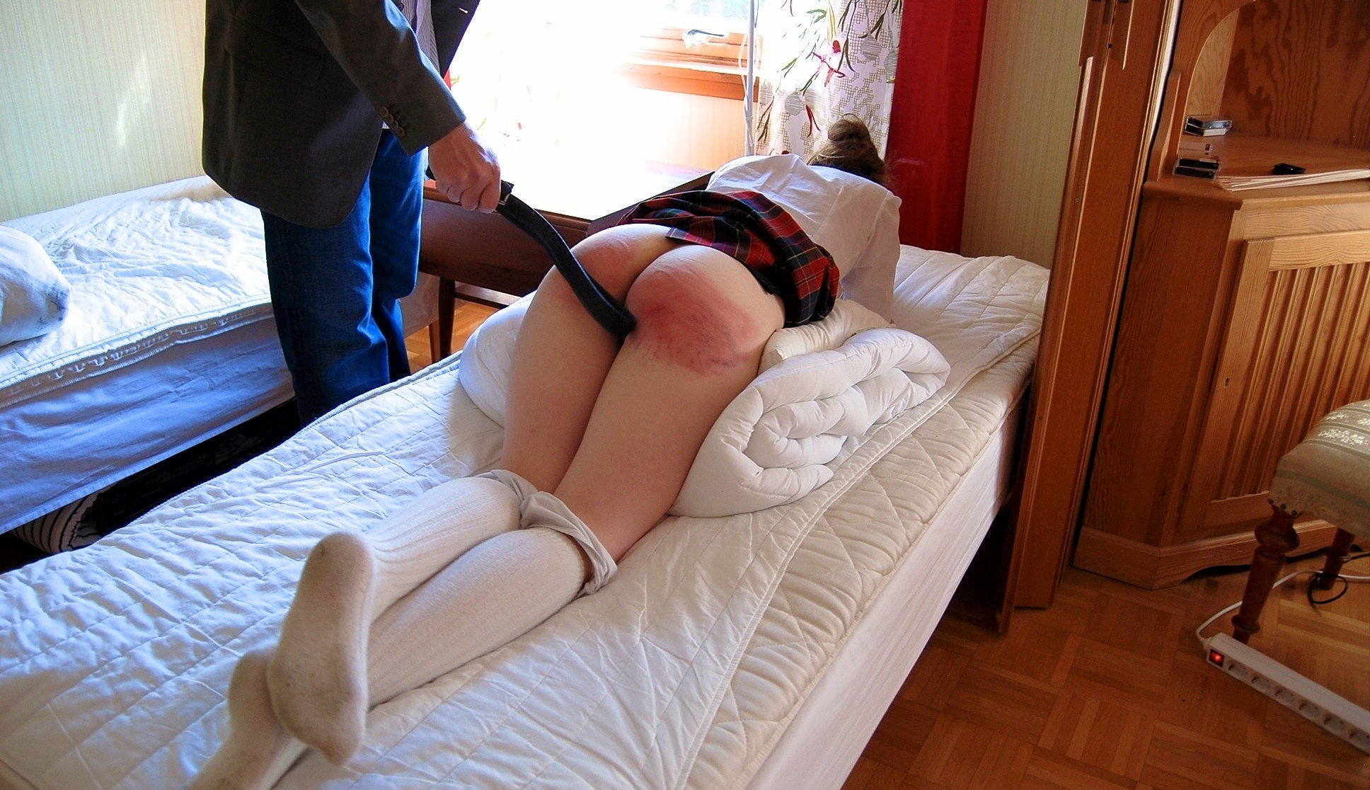 History! Spanking girls daily motion